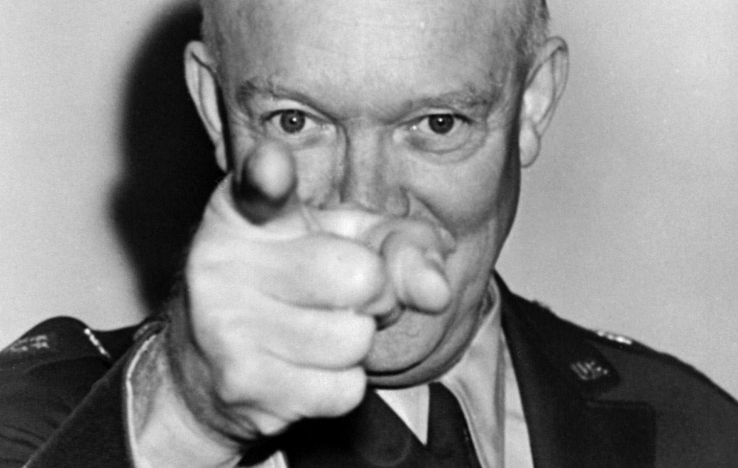 Dwight 'Ike' Eisenhower, l'uomo senza avvenire