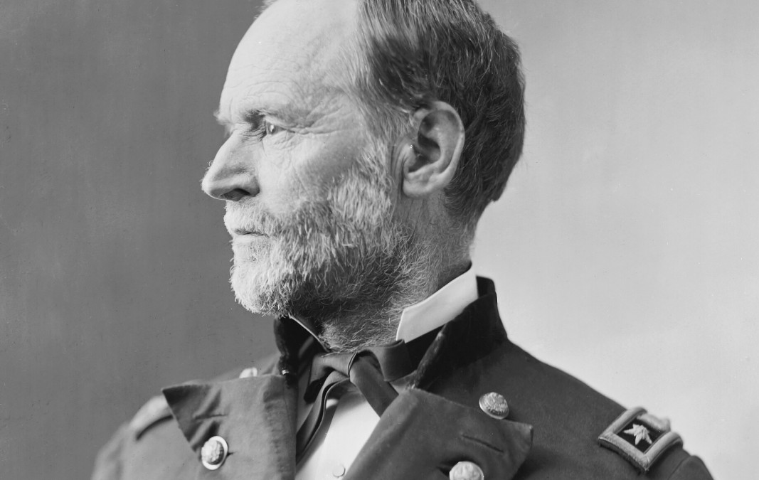 "William T. Sherman, ""Mai andrei alla Casa Bianca!"""