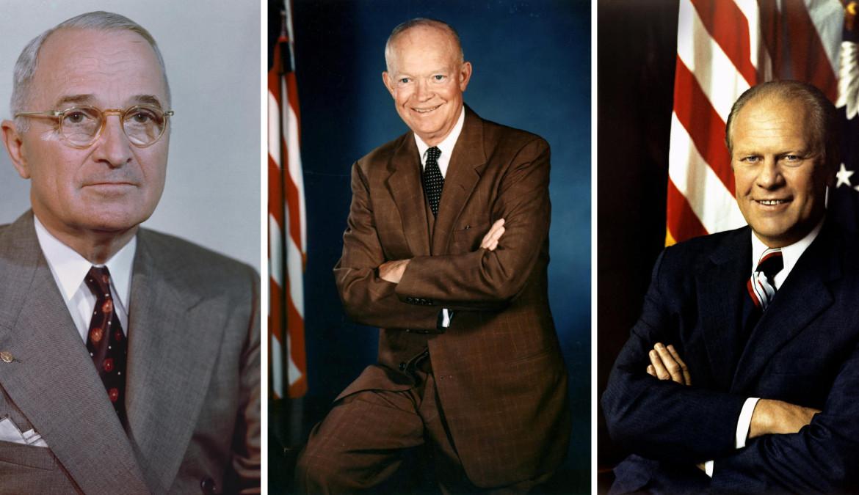 Truman, Eisenhower, Ford, a proposito della politica estera USA