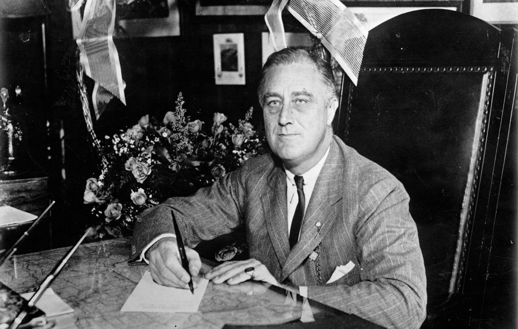 Franklin Delano Roosevelt,  'New deal' e quattro mandati!
