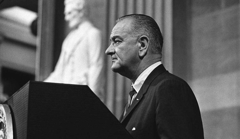 Lyndon Johnson come 'percepito'  da Franklin Delano Roosevelt