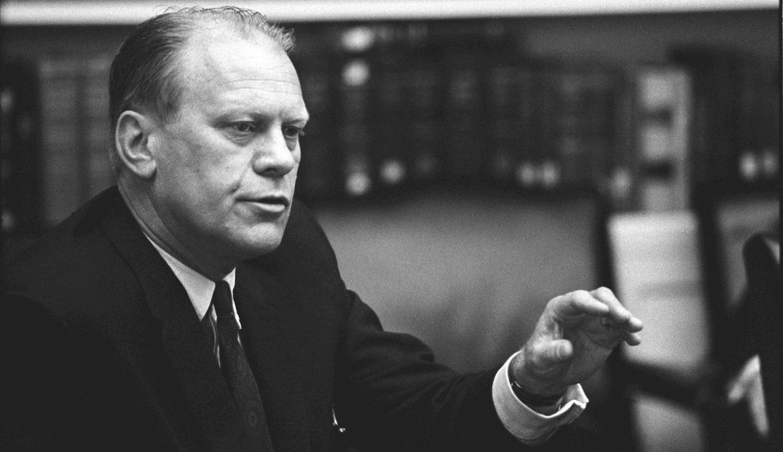 Gerald Ford due volte Vice? Alcune conseguenti articolazioni