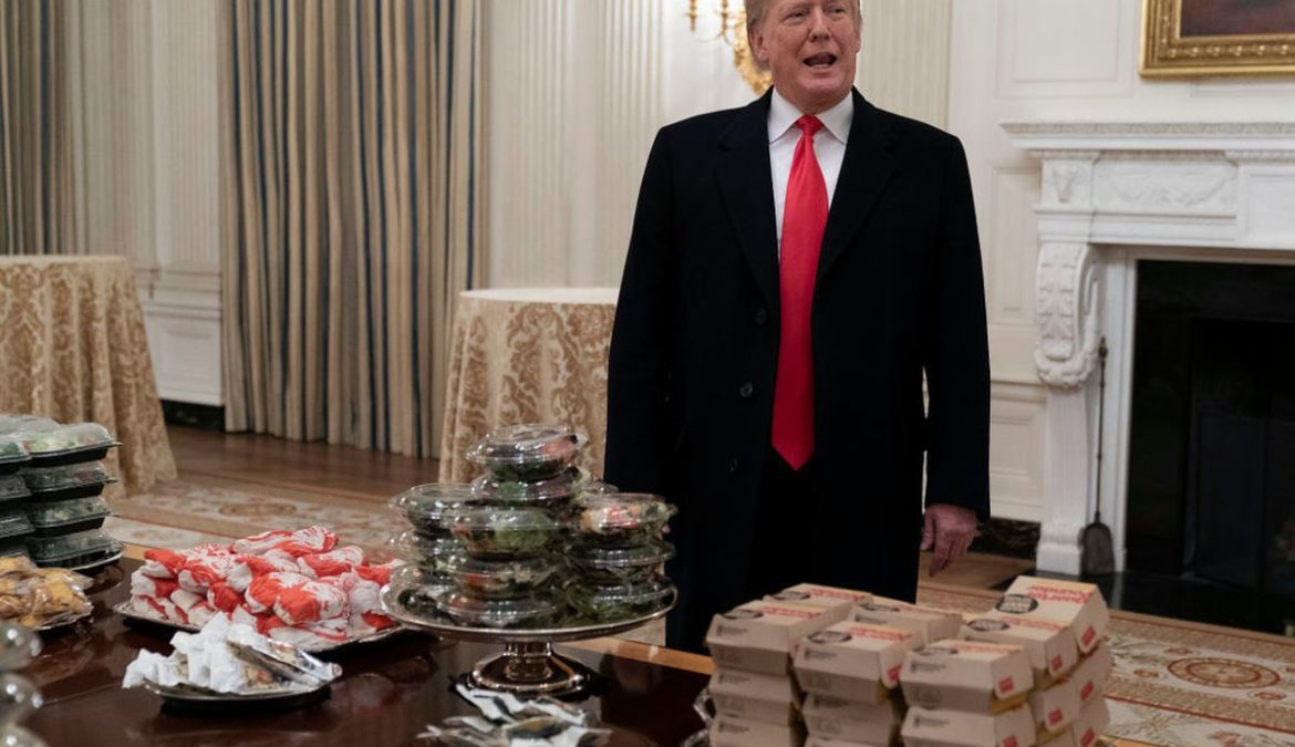 Fast food Donald Trump