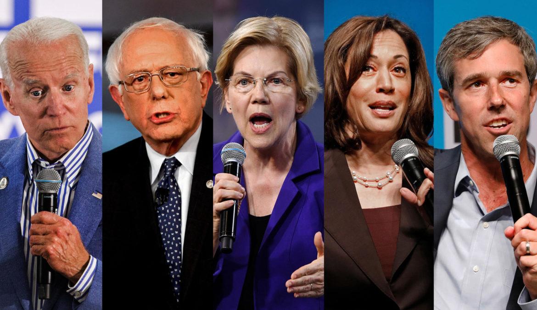 Biden, Sanders, Warren, Harris nell'ordine