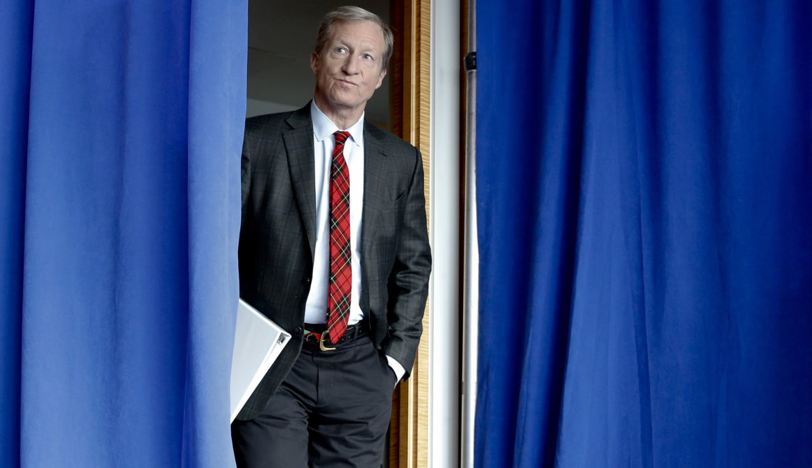 Tom Steyer in corsa tra i democratici