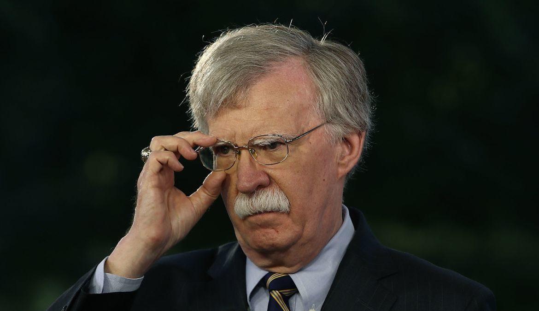 Via il Consigliere per la Sicurezza John Bolton