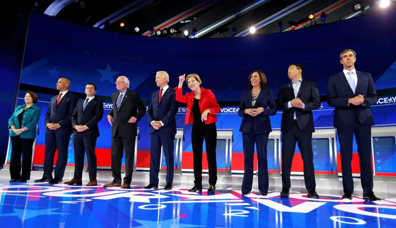 Terzo dibattito democratico a Houston