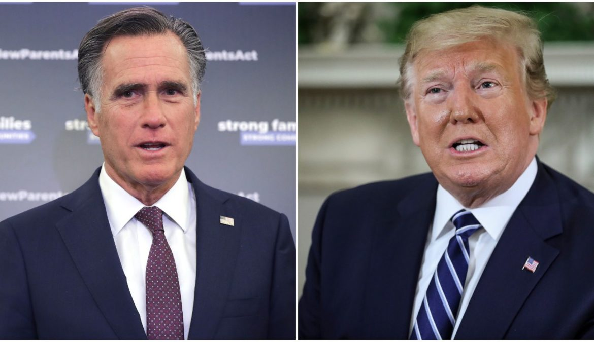Romney a favore dell'Impeachment