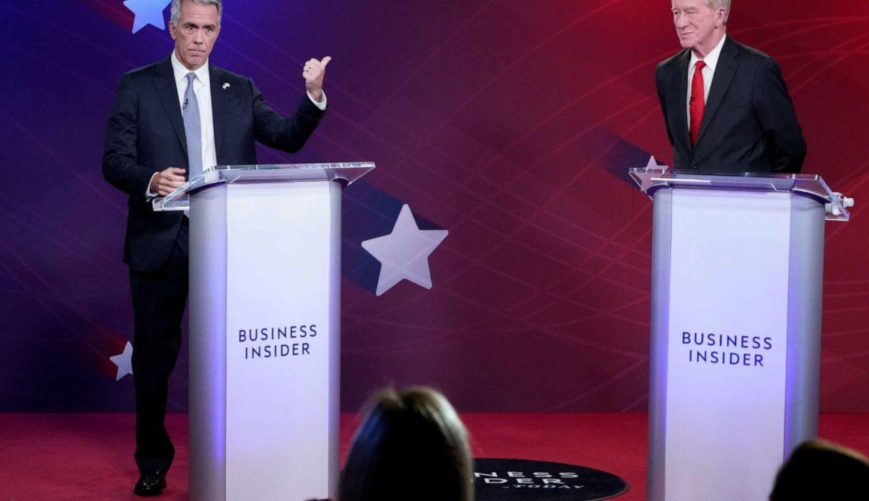 Dibattito Weld/Walsh sul futuro GOP