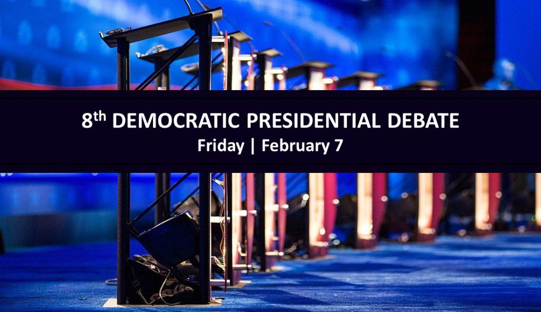 L'ottavo dibattito democratico