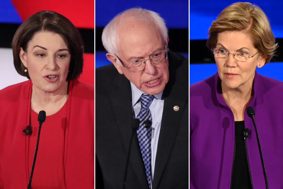 Bennett, Klobuchar, Sanders e Warren costretti a Washington