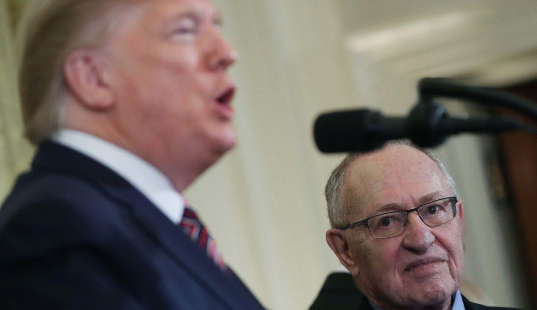 La difesa di Trump come impostata da Alan Dershowitz