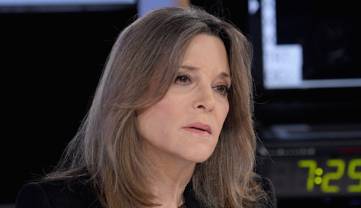 Marianne Williamson out!