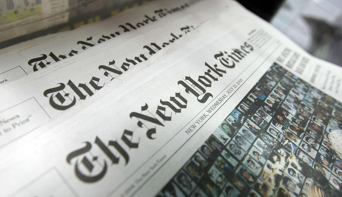 L'endorsement del New York Times