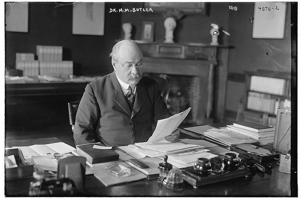 Nicholas Murray Butler e l'eredità ricevuta nel 1912
