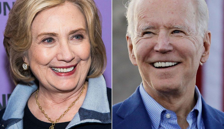 Confronto Joe Biden/Hillary Clinton a quindici giorni dal voto