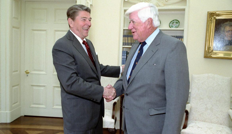 Ronnie Reagan e Tip O'Neill: una proficua collaborazione