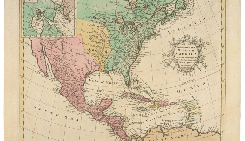 Geografia e lingua in America
